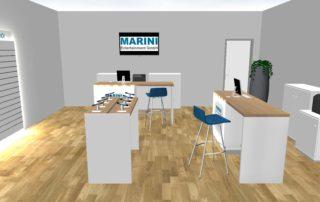 Aus O2 Shop Reudnitz wird Marini Smart Home Store Reudnitz