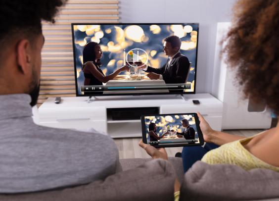 Fernsehens Internet ist IPTV