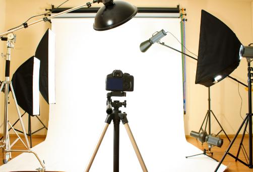 Fotostudio-Ausstattung