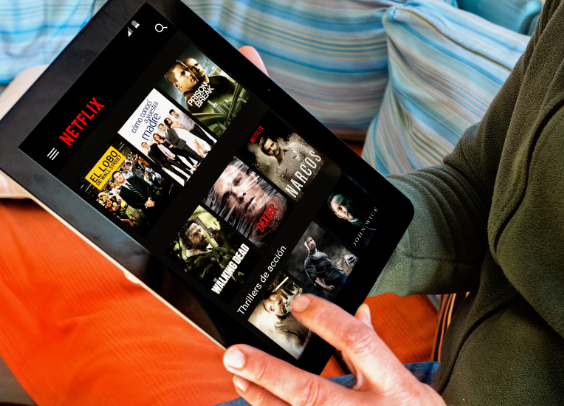 TV-Erlebniswelt Netflix