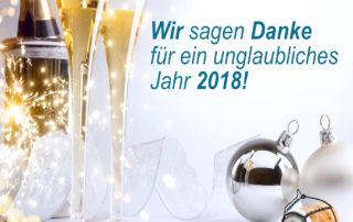 Wir sagen Danke für ein unglaubliches Jahr 2018!