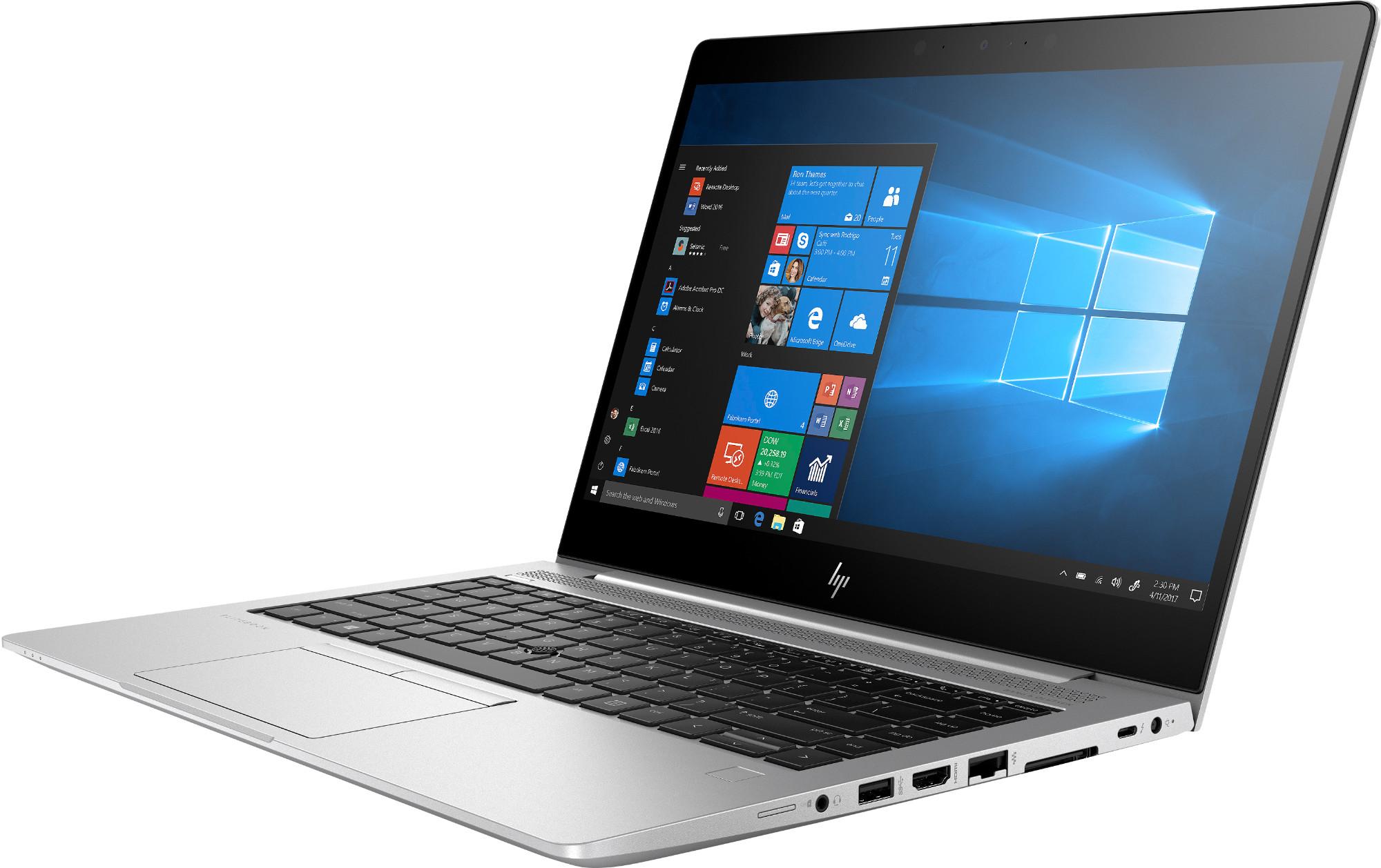 HP EliteBook 840 G6 Silber Notebook front