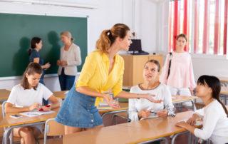 Schulanfang Klassenraum