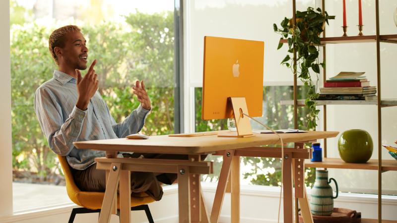 Der neue iMac in atemberaubenden Design
